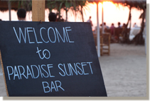 SUNSET PARADISE BAR